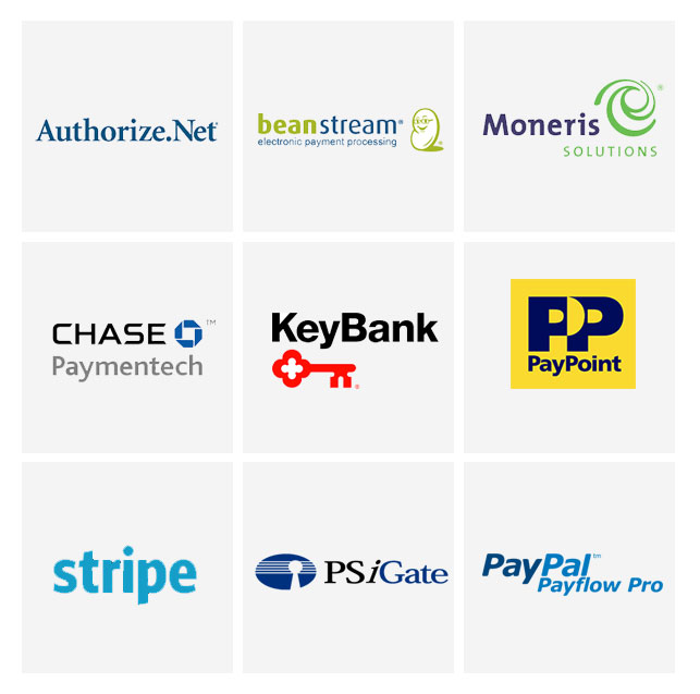 payment gateway company logos